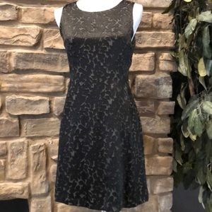 Banana Republic Silk Dress Fit and Flare Style 2